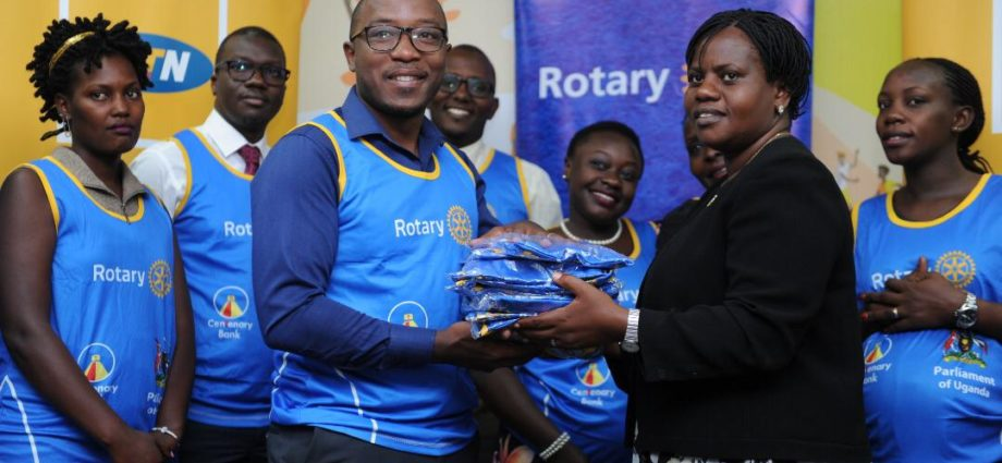 MTN Uganda Joins the Rotary Cancer Run 1