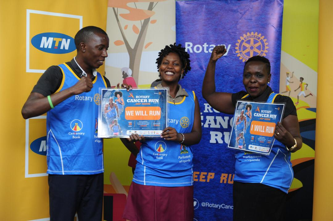 MTN Uganda Joins the Rotary Cancer Run 3