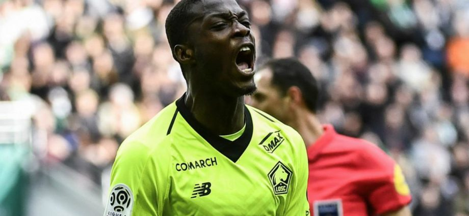Nicolas Pepe joins Arsenal at a record high deal signing.
