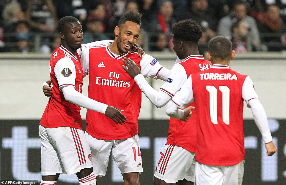 It Was all About Bukayo Saka as Arsenal Win Europa League Opener 3