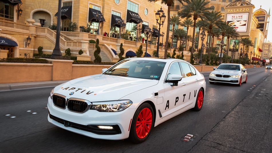 Self Driving Taxis Hit Las Vegas 3