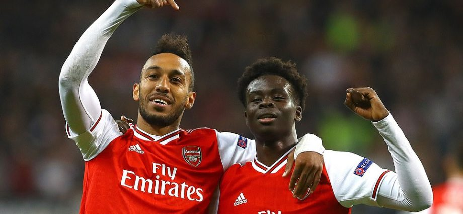 It Was all About Bukayo Saka as Arsenal Win Europa League Opener 1
