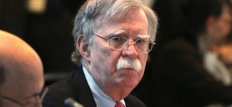 President Trump Fires National Security Adviser John Bolton 1