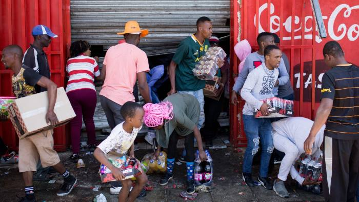 Many Arrested As Looting and Killings Rock South Africa 3