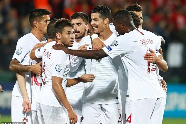 Ronaldo Scores 4 as Portugal Beat Lithuania in Euro Qualifiers 1