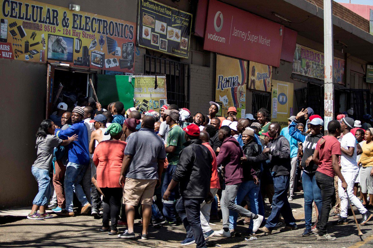 Many Arrested As Looting and Killings Rock South Africa 2