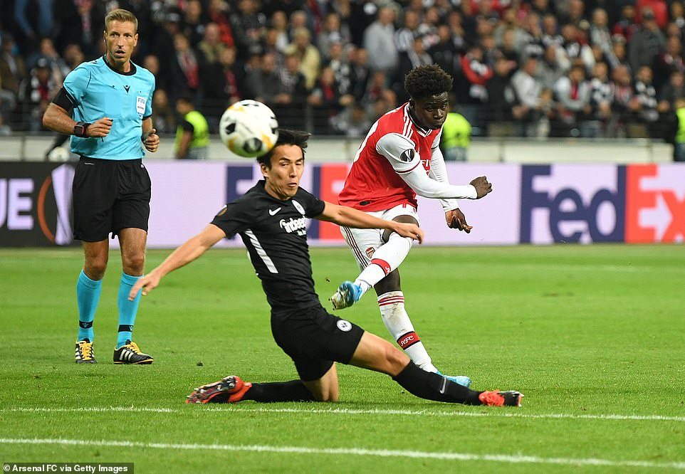 It Was all About Bukayo Saka as Arsenal Win Europa League Opener 2