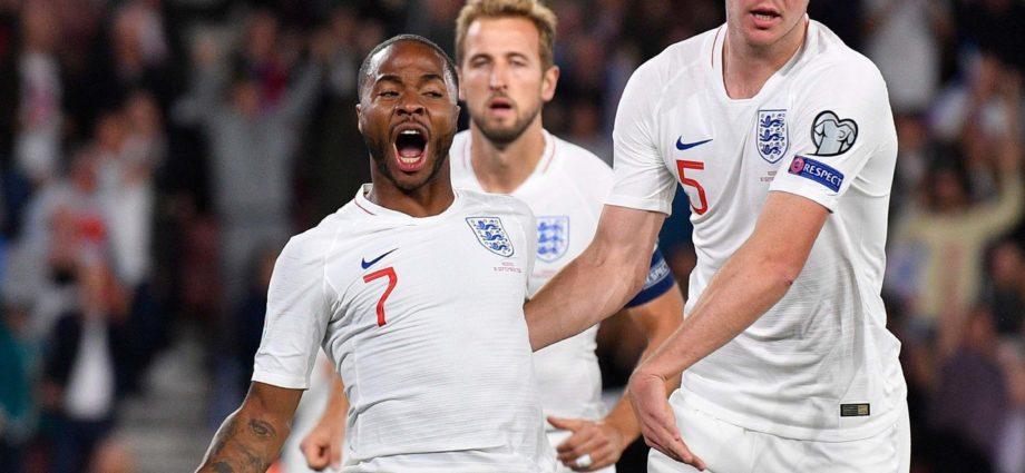 Sensational Sterling Helps England Beat Kosovo 1
