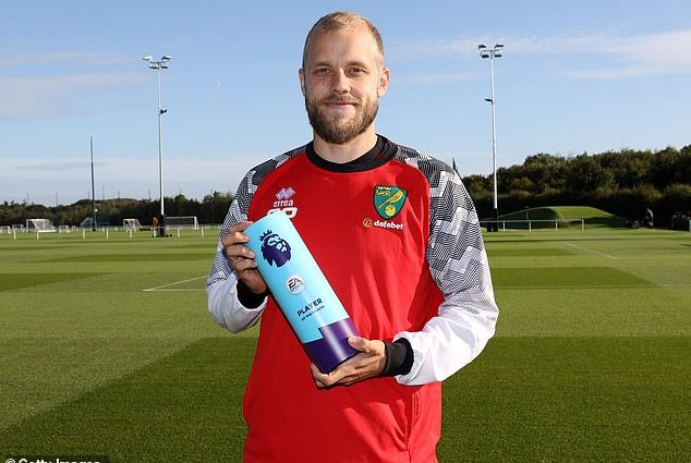Teemu Pukki is the August English Premier League Player of the Month 1