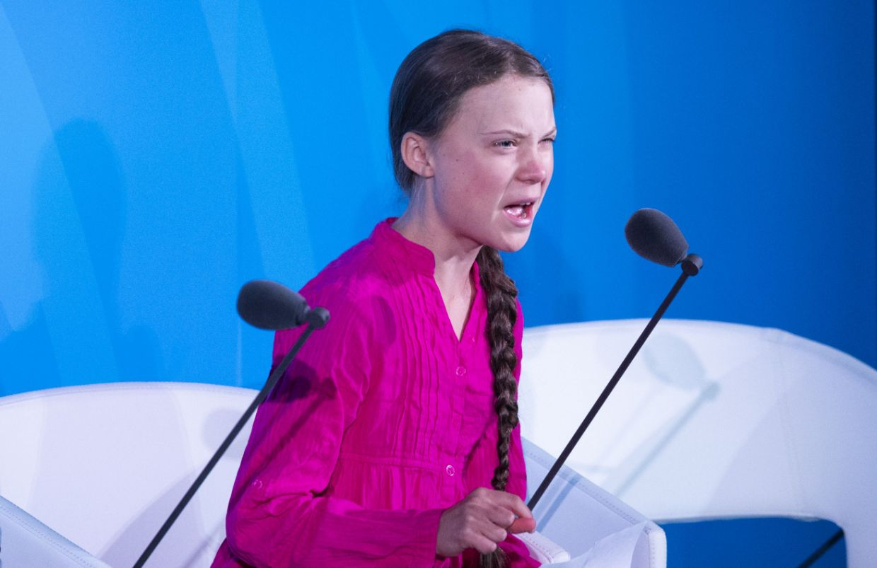 16 Year Old Greta Thunberg Shames World Leaders for Failing Her Generation 2