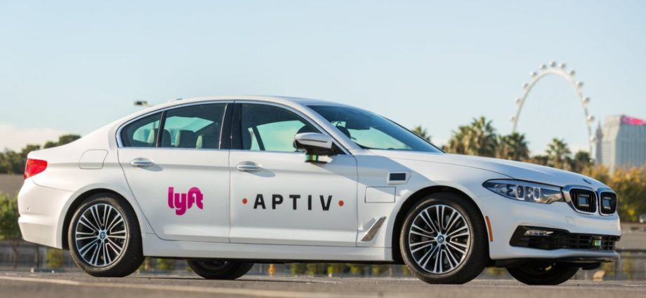Self Driving Taxis Hit Las Vegas 1
