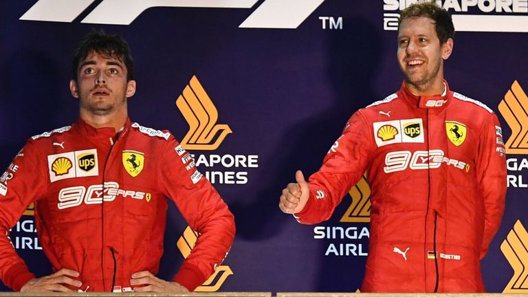It was All Fireworks for Sebastian Vettel in Singapore GP 2