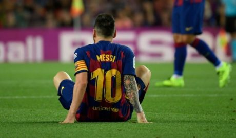 Messi Injured Again After Win Against Villareal 3