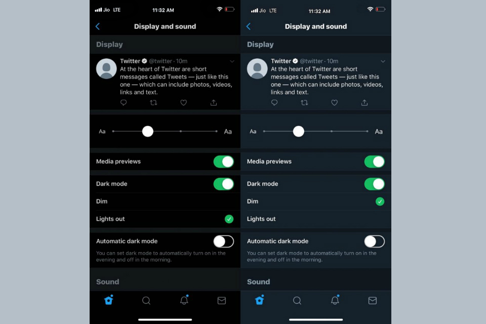 Twitter Introduces Lights Out Mode on Android 2
