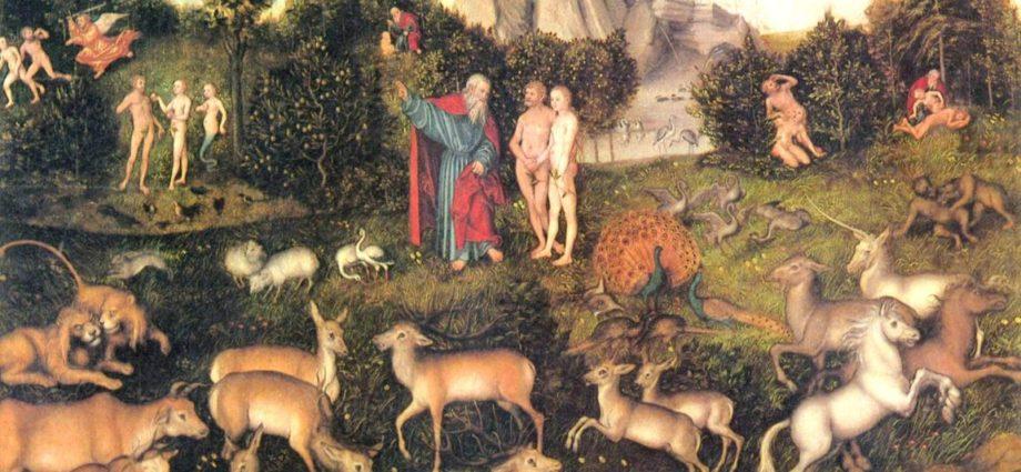 Story of creation in Genesis.