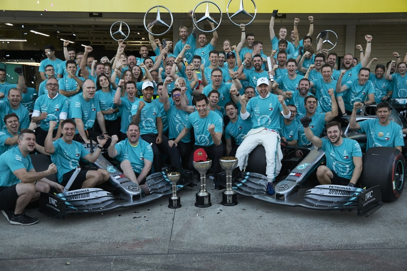 Bottas Wins Japanese Grand Prix and Mercedes Win their 6th Constructors Championship 3