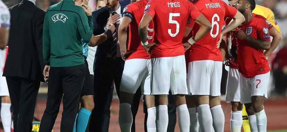 England Make Huge Racism Statement in Bulgaria 1