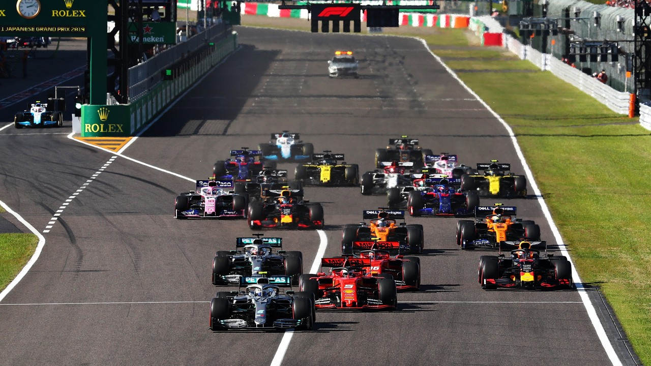 Bottas Wins Japanese Grand Prix and Mercedes Win their 6th Constructors Championship 2