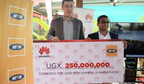 Huawei Gives 250,000,000 shillings to Maternal Health Care in Uganda As Partners of MTN Marathon 2