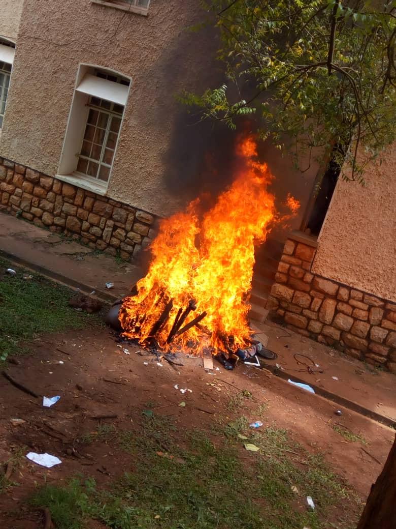 Makerere University Students Burn Former Guild's Property in Strike 2