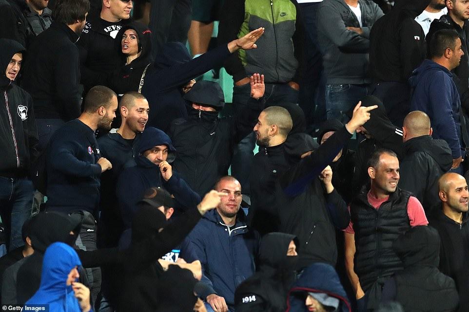 England Make Huge Racism Statement in Bulgaria 3