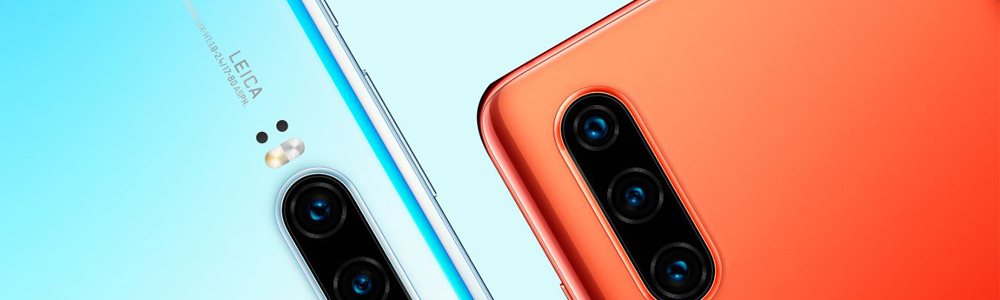 Huawei P20 and P30 smartphones.