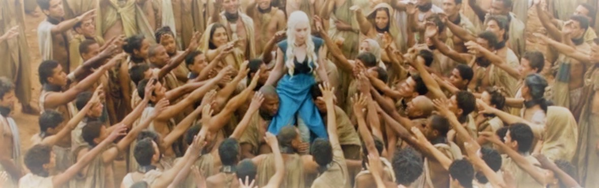 Daenerys Targaryen is a fictional character in George R. R. Martin's Game of Thrones book's