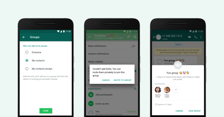 WhatsApp Introduces Great New Feature That Allows Users To Select Who Can Add Them To Groups 2