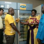 MTN Foundation Hands Over Blood Storage Equipment to Mbale Regional Blood Bank 6