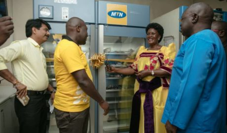MTN Foundation Hands Over Blood Storage Equipment to Mbale Regional Blood Bank 3