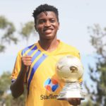 Allan Okello Wins Football256 Football Player of The Year Award