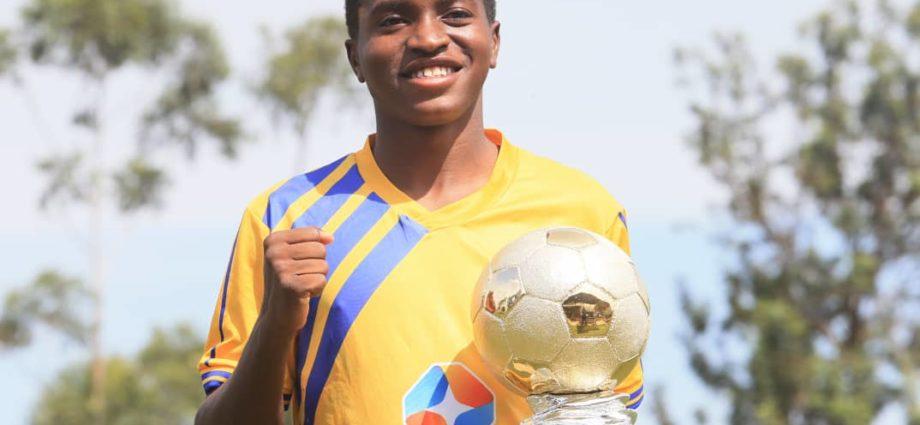 Allan Okello Wins Football256 Football Player of The Year Award 1