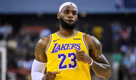 LeBron James today became the first-ever player in the history of the NBA to score against every single team in the league.
