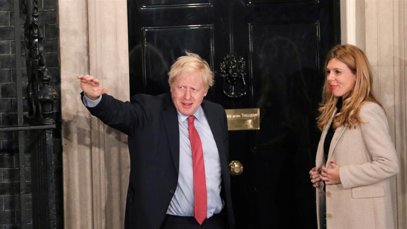 Boris Johnson Returns As Britain Prime Minister After Winning Elections - Newslibre