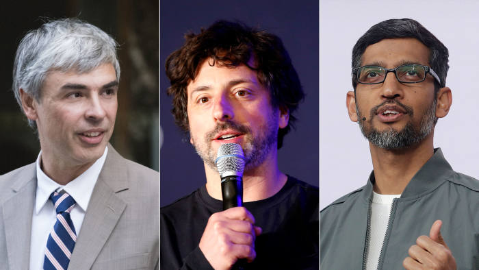 Google Founders Larry and Sergey Step Down - Newslibre
