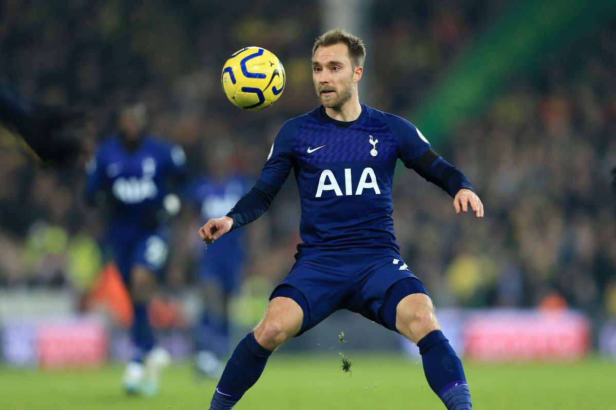 Inter Milan Have Not Made Contact with Tottenhman for Eriksen  - Newslibre