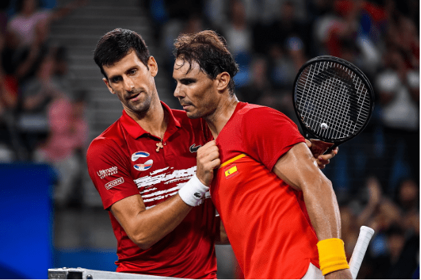 Novak Djokovic Defeats Nadal In Serbia vs Spain ATP Cup Final - Newslibre