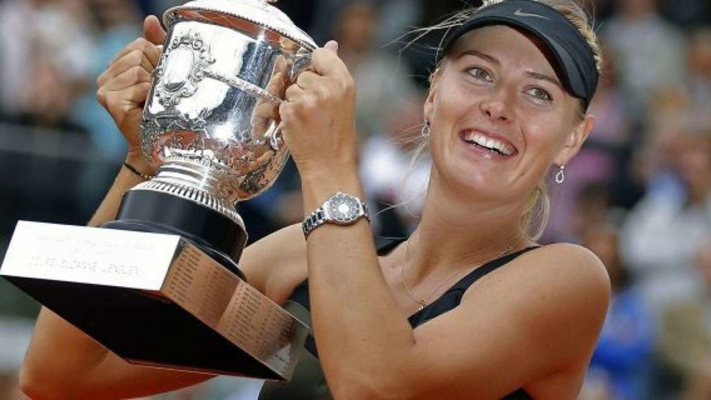 5 Time Grand Slam Champion Maria Sharapova Retires from Tennis - Newslibre
