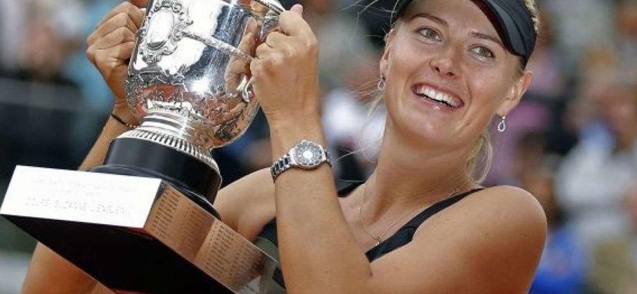 5 Time Grand Slam Champion Maria Sharapova Retires from Tennis - Newslibre