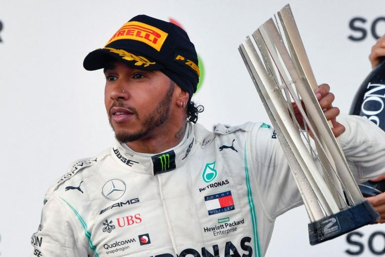 Lewis Hamilton Wins the Laureus Sportsman Award Alongside Messi - Newslibre