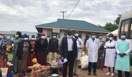 Uganda Cancer Institute Transports 100 Patients Back Home amid Public Transport Ban - Newslibre