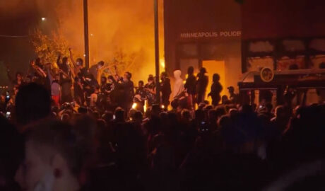 Protesters Burn Police Station in Minneapolis After Killing of George Floyd - Newslibre