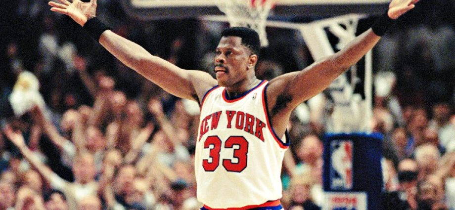 NBA and New York Knicks Legend Patrick Ewing - Newslibre
