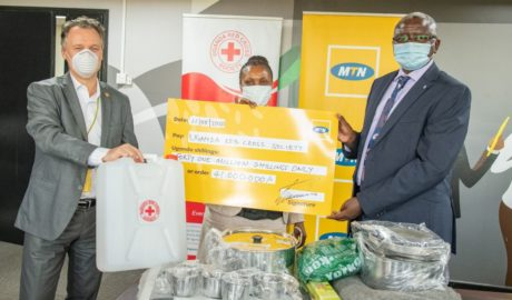 MTN Uganda Comes to the Rescue of Kasese Floods Victims - Newslibre