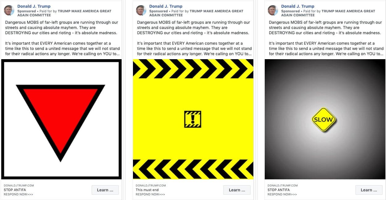 Facebook Removes President Trump Campaign Ads That Contained Nazi Symbols - Newslibre