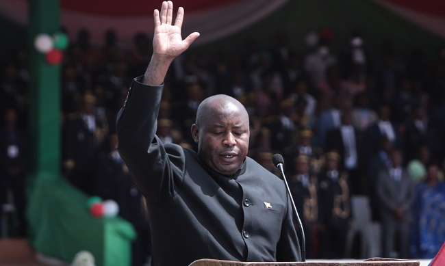 Evariste Ndayishimiye Has Been Sworn in as New Burundi President - Newslibre