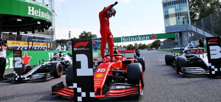 Italy Renews F1 Contract till 2025 - Newslibre