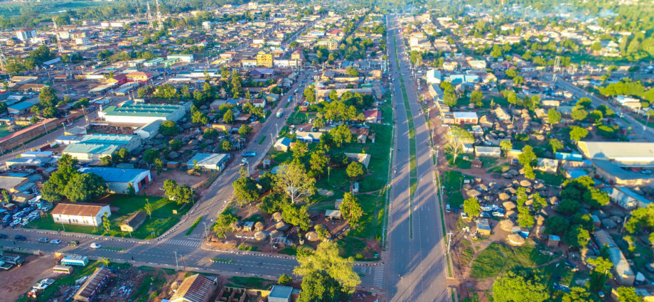 Aerial View of Gulu City - Newslibre