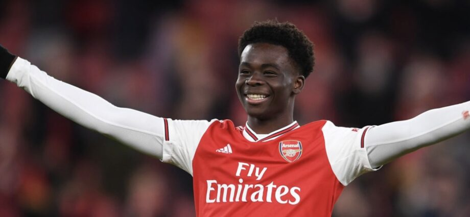 Bukayo Signs New Long Term Deal With Arsenal - Newslibre