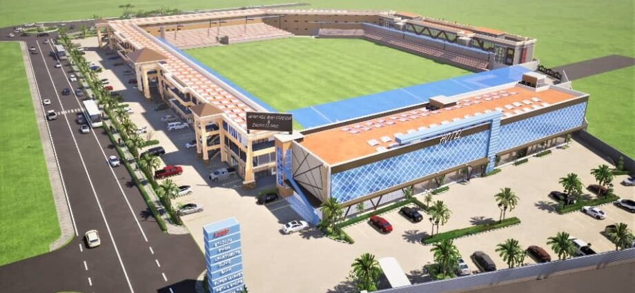 20,000 Seater Capacity Stadium Being Constructed in Arua City - Newslibre